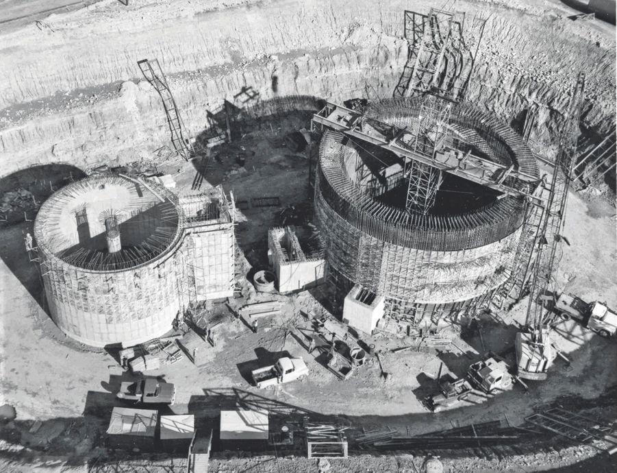 L'un des 72 sites de stockage de missiles nucléaires construits aux Etats-Unis pendant la guerre froide.