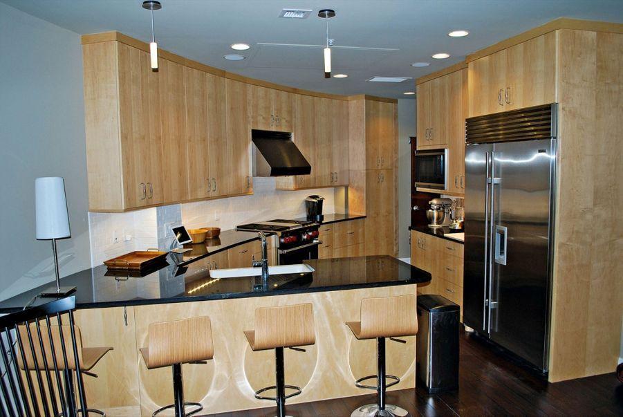 Une cuisine individuelle.