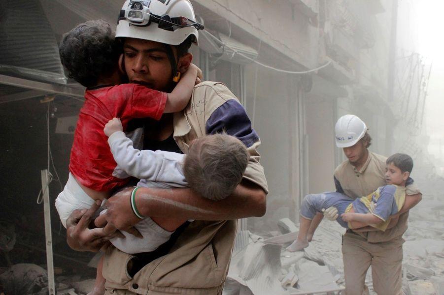 Photo prise le 23 septembre à Alep.