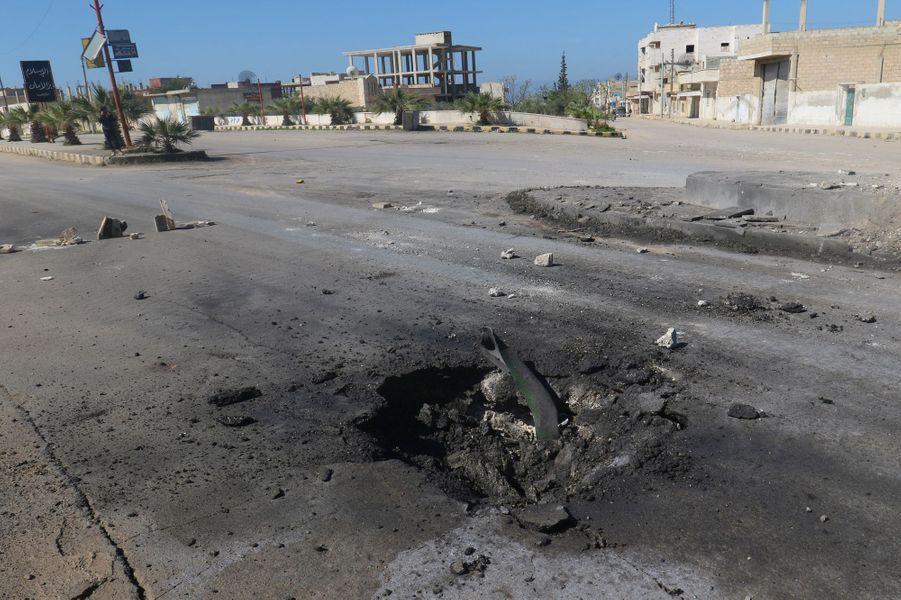 """L'opposition syrienne a accusé le régimede Bachar al-Assad d'avoir mené uneattaque""""chimique"""" qui a fait au moins 58 morts àKhan Cheikhoun,un fief rebelle et jihadiste du nord-ouest du pays."""