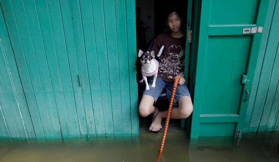 Les habitants redoutent le pire, alors qu'une forte marée est annoncée pour ce week-end.
