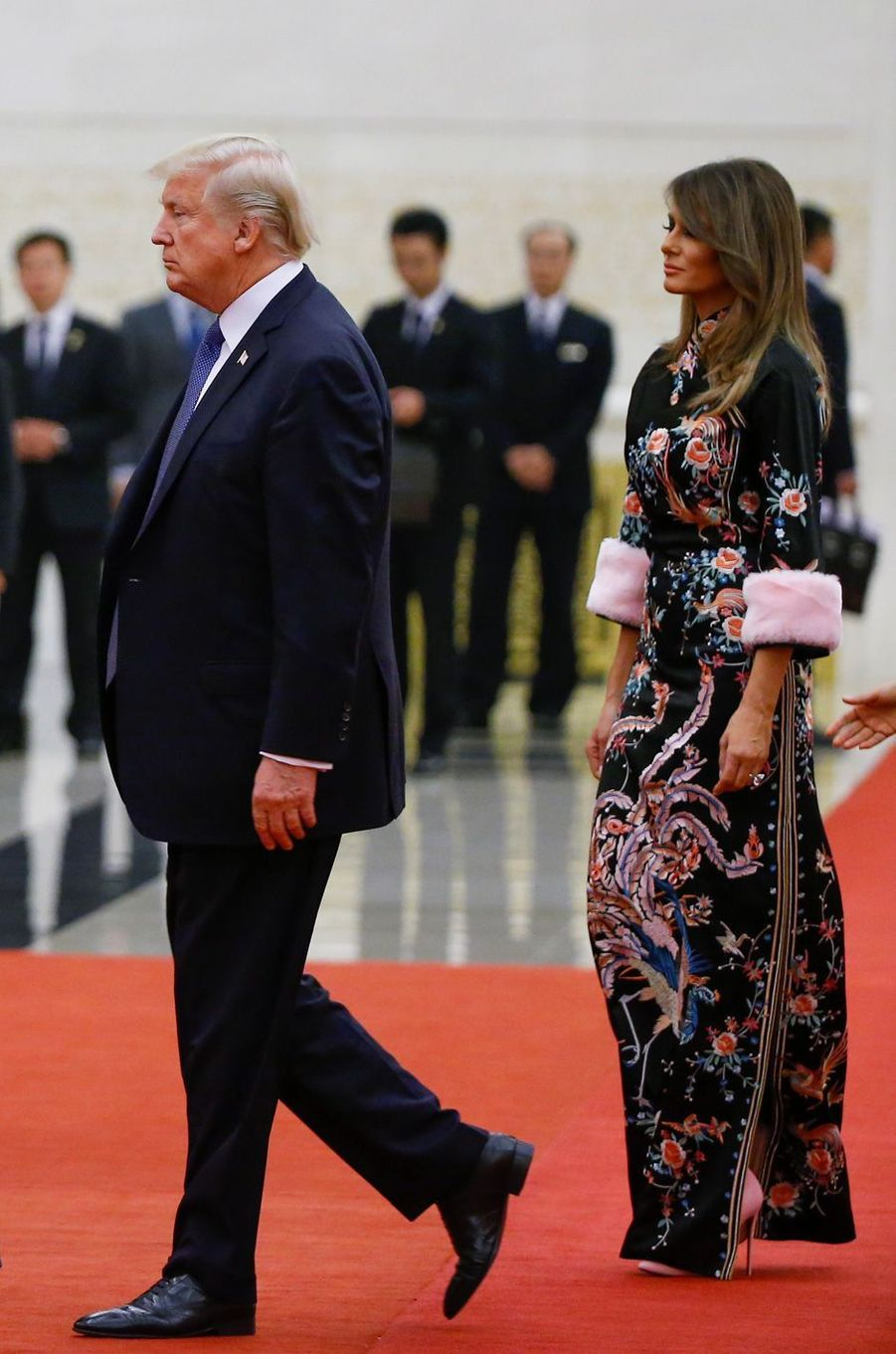 Melania Trump à Pékin, en Chine, le 9 novembre 2017.