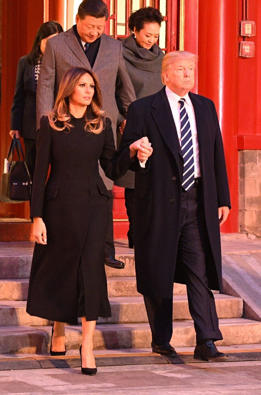 Melania Trump à Pékin, en Chine, le 8 novembre 2017.