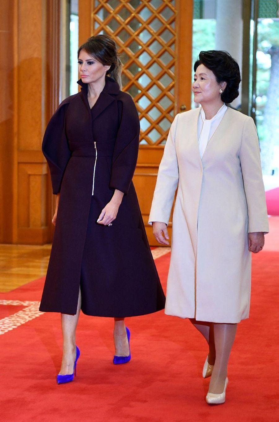 Melania Trump à Séoul, en Corée du Sud, le 7 novembre 2017.