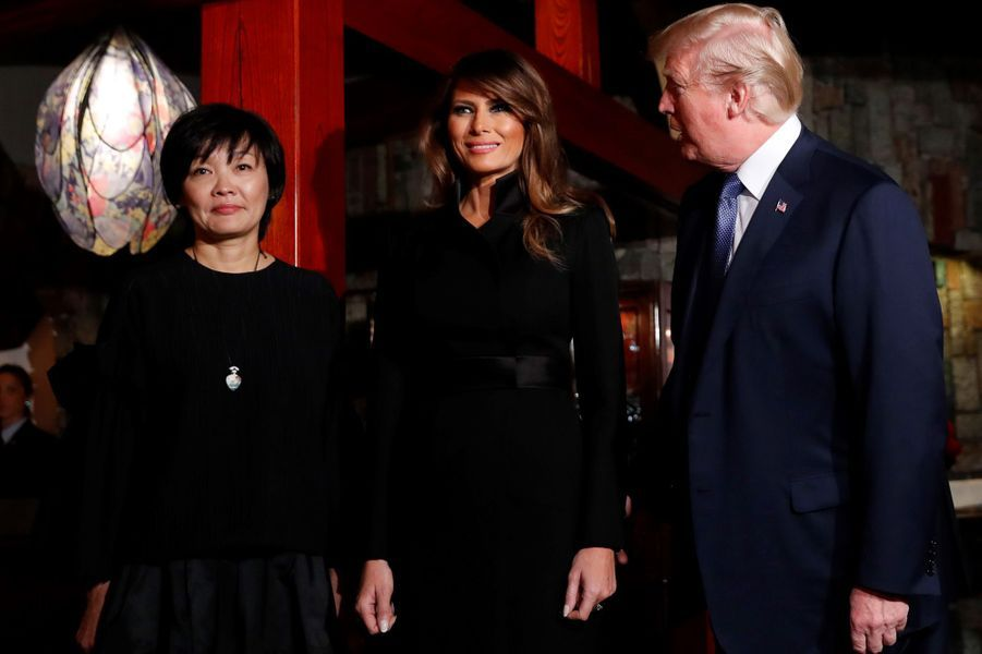 Melania Trump à Tokyo, le 5 novembre 2017.