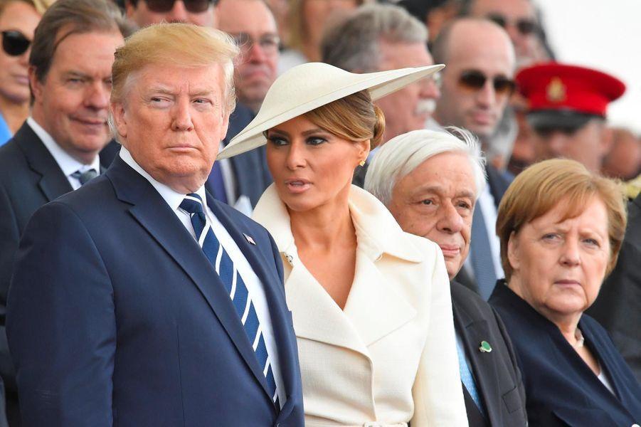 Melania Trump àPortsmouth, le 4 juin 2019.