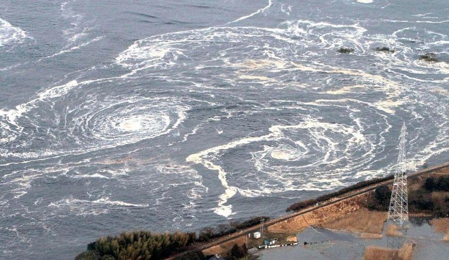 D'énormes tourbillons se sont formés dans le Pacifique.