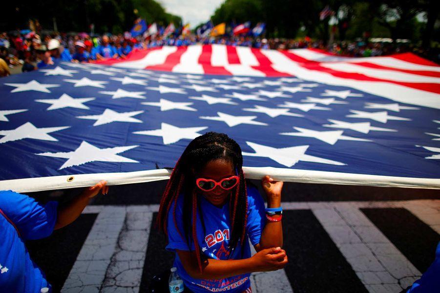 Célébrations de la fête de l'indépendance des Etats-Unis à Washington, le 4 juillet 2019.