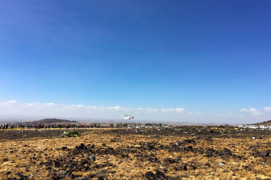 Un avion d'Ethiopian Airlines s'est écrasé avec 157 personnes à bord, le 10 mars 2019.