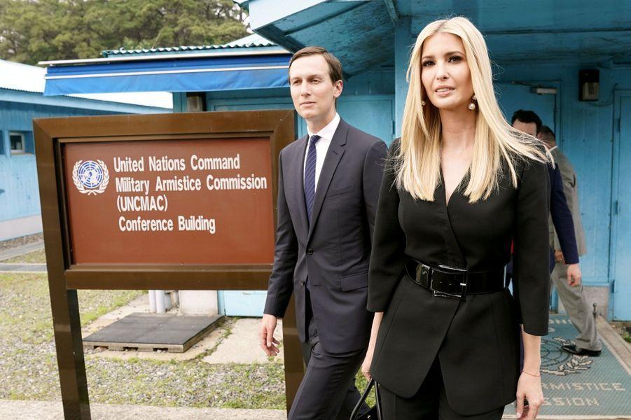 Jared Kushner et Ivanka Trump étaient aux côtés de Donald Trump en Corée.