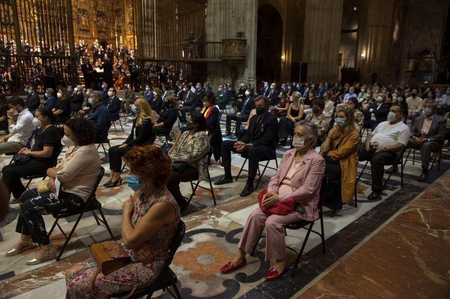 Cathédrale de Séville en Espagne, le 4 juin 2020.