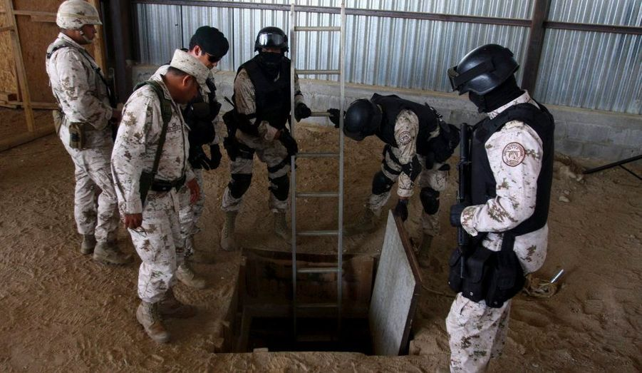 Les autorités américaines ont annoncé mercredi dernier avoir découvert un «important tunnel» au niveau de la frontière du Mexique. Relié à des entrepôts d'un parc industriel du Mexique, ils servaient de passerelle pour acheminer de la drogue jusqu'en Californie, aux Etats-Unis. Quatorze tonnes de marijuana ont été saisis. La brigade antistupéfiants a arrêté 15 présumés narco trafiquants liés au cartel des Zetas.