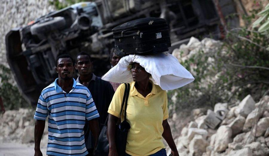 La population haïtiennne a tout perdu dans la catastrophe
