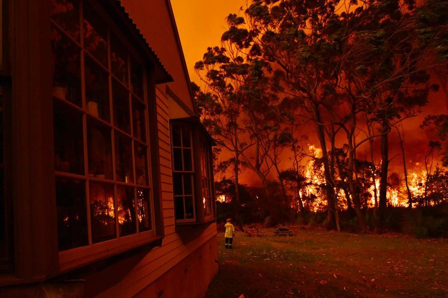 Des feux de forêts menacent l'est de l'Australie.