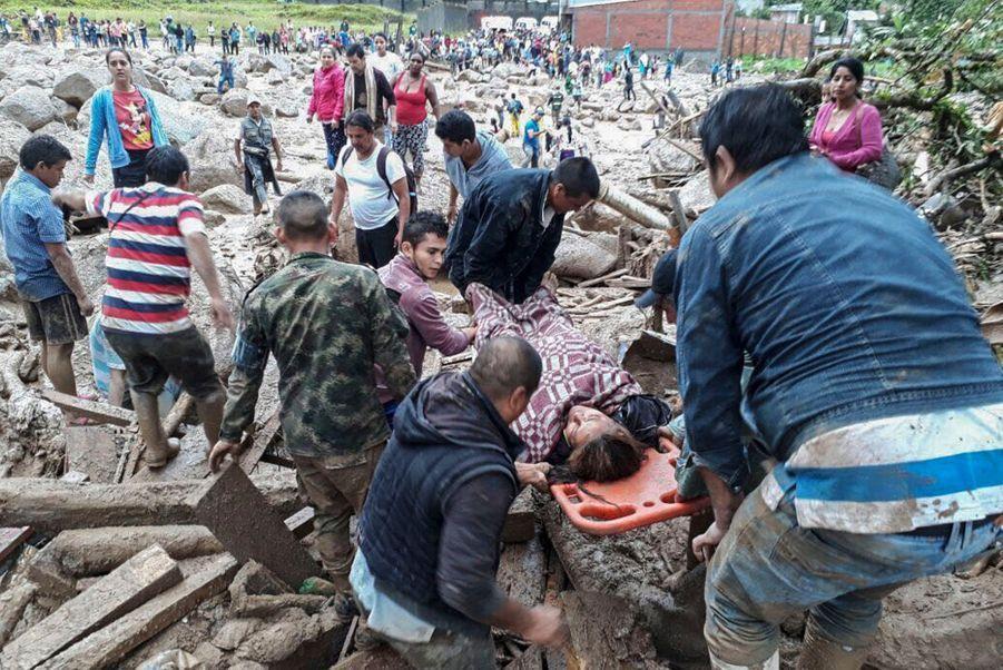 Une Coulée De Boue Dans Le Sud De La Colombie Fait Des Dizaines De Morts 1