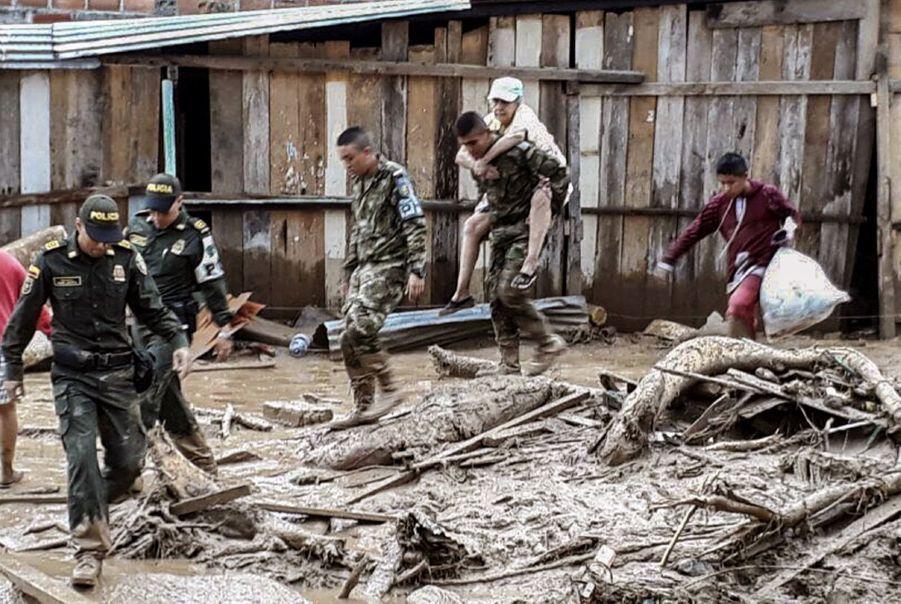 Une Coulée De Boue Dans Le Sud De La Colombie Fait Des Dizaines De Morts 2