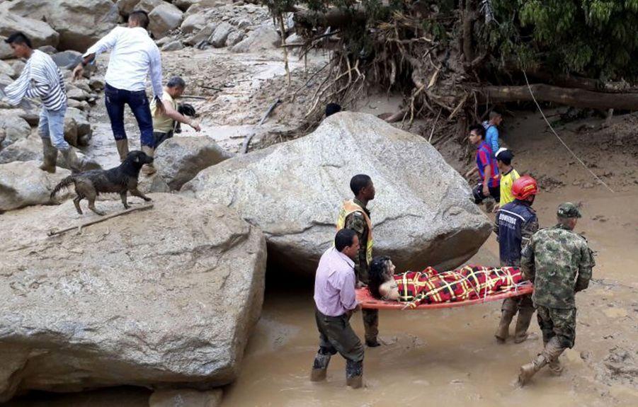 Une Coulée De Boue Dans Le Sud De La Colombie Fait Des Dizaines De Morts 3