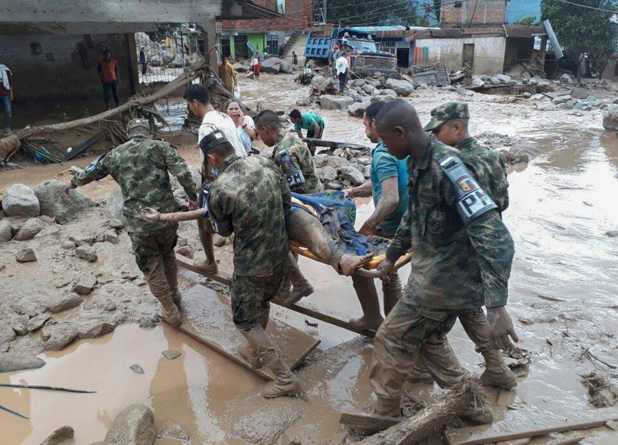 Une Coulée De Boue Dans Le Sud De La Colombie Fait Des Dizaines De Morts 7
