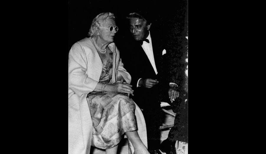 Aristotle et l'épouse de Winston Churchill