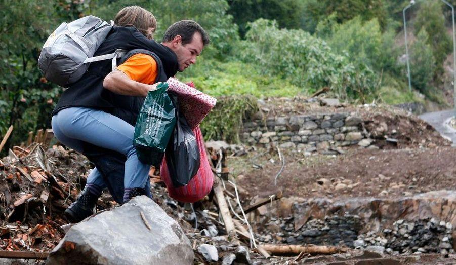Des habitants de Funchal ont tout perdu dans la catastrophe.
