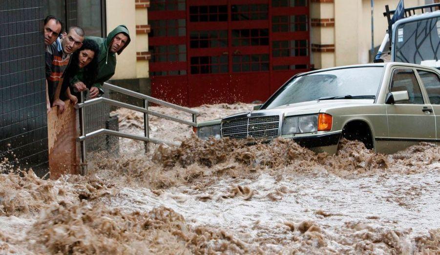 Un torrent de boue