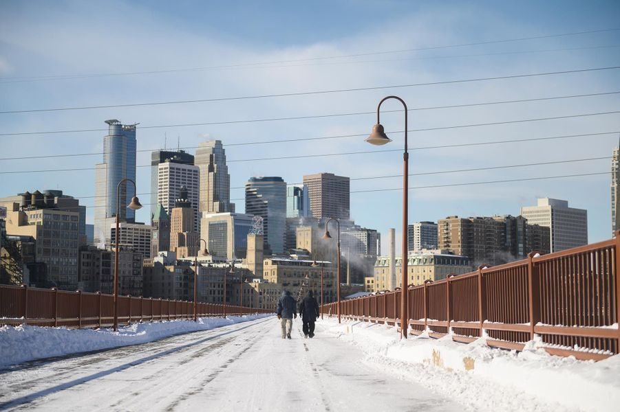 A Minneapolis, dans le Minnesota, le 29 janvier 2019.