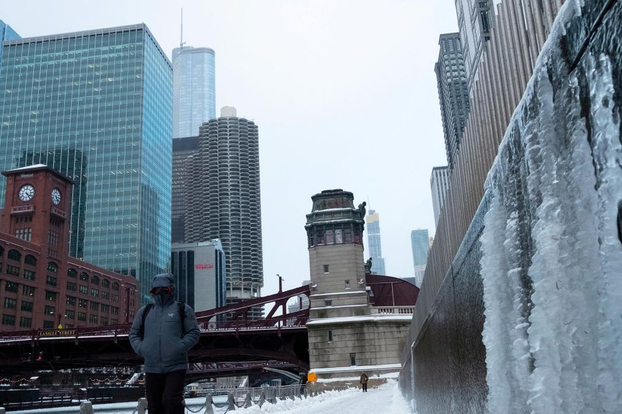 A Chicago, dans l'Illinois, le 29 janvier 2019.