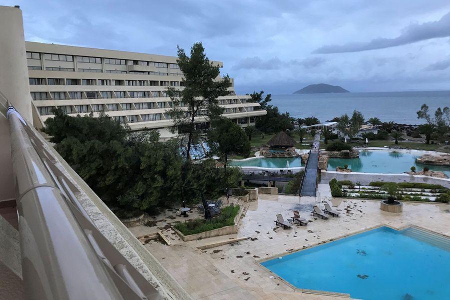 Porto Carras en Grèce, le 11 juillet 2019.