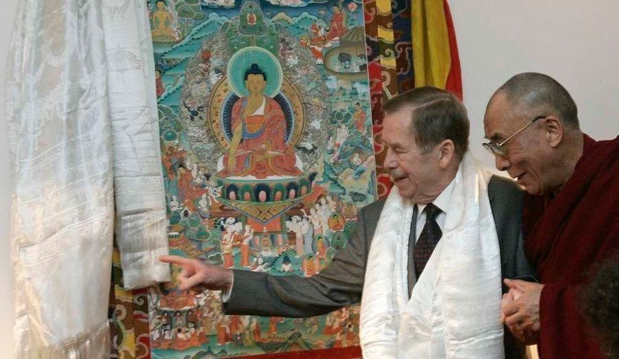 Avec le Dalai Lama