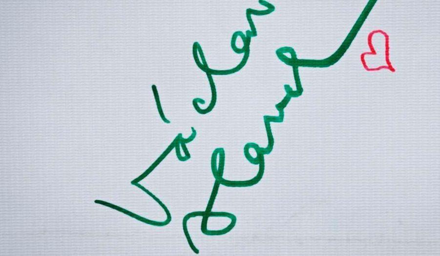 La signature d'un grand homme
