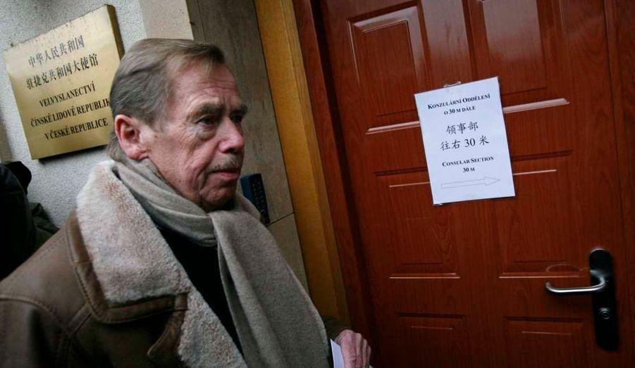 Vaclav Havel avait apporté son soutien au dissident chinois Liu Xiaobo.