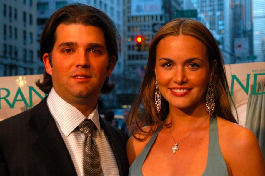 Vanessa et Donald Trump Jr, en avril 2005.