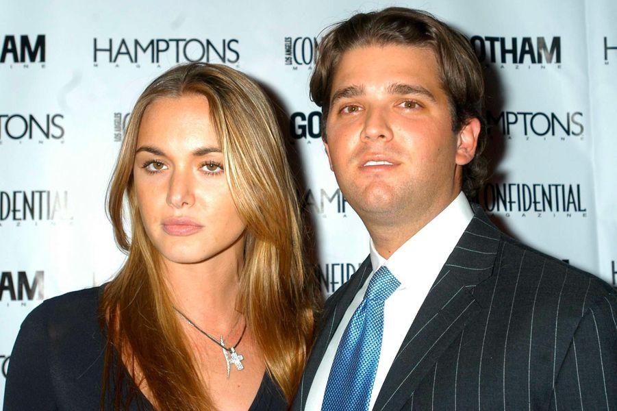 Vanessa et Donald Trump Jr, en février 2004.