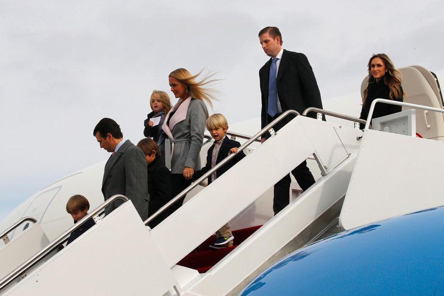 Vanessa et Donald Trump Jr, en janvier 2017.