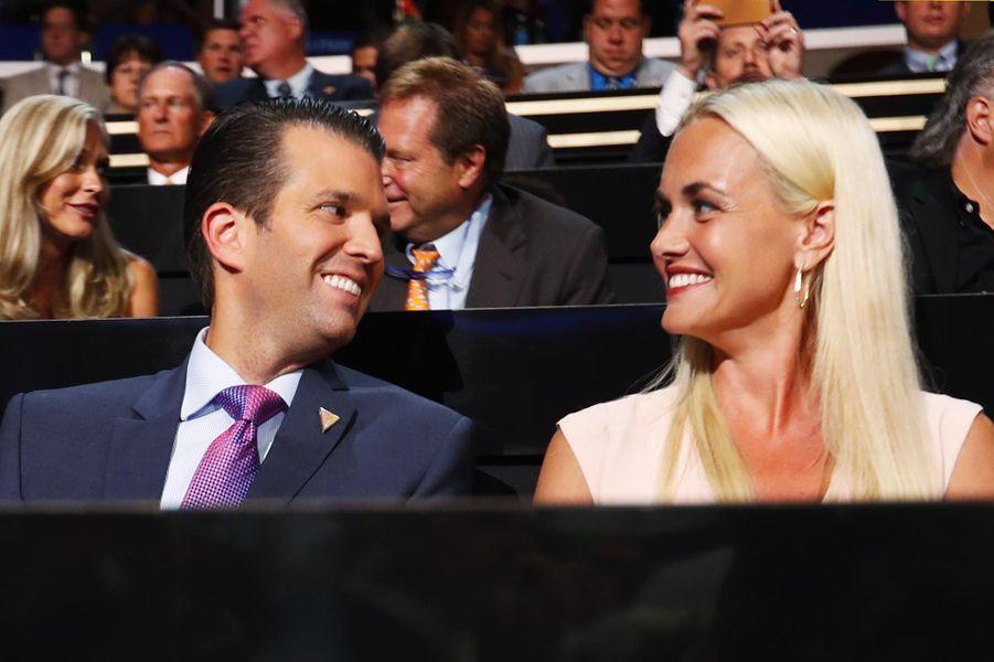 Vanessa et Donald Trump Jr, en juillet 2016.