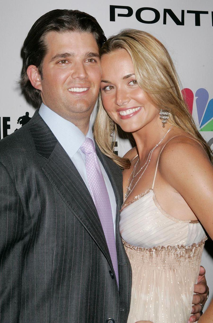 Vanessa et Donald Trump Jr, en juin 2006.