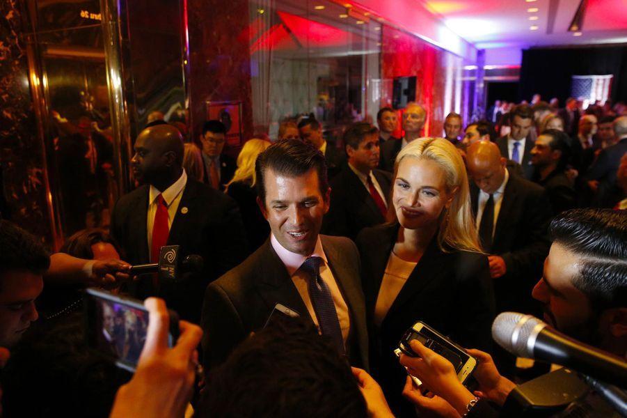 Vanessa et Donald Trump Jr, en mai 2016.