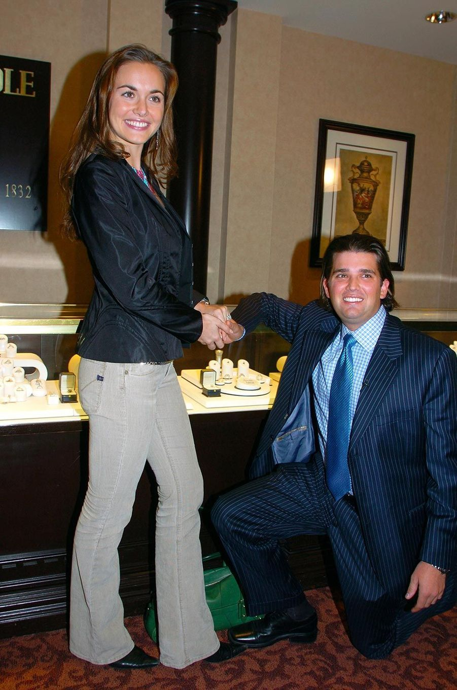 Vanessa et Donald Trump Jr, en novembre 2004.