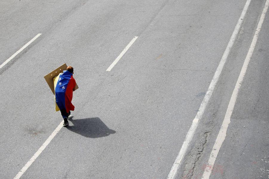 Manifestation à Caracas, au Venezuela, le 10 juillet 2017.