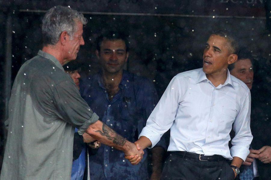 Anthony Bourdain et Barack Obama