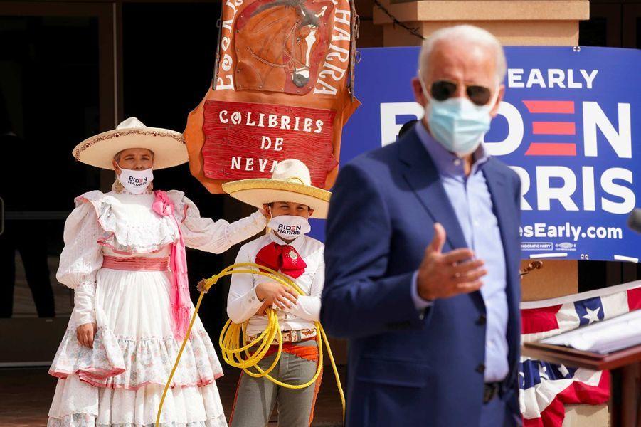 Joe Biden à Las Vegas, dans le Nevada, le 9 octobre 2020.