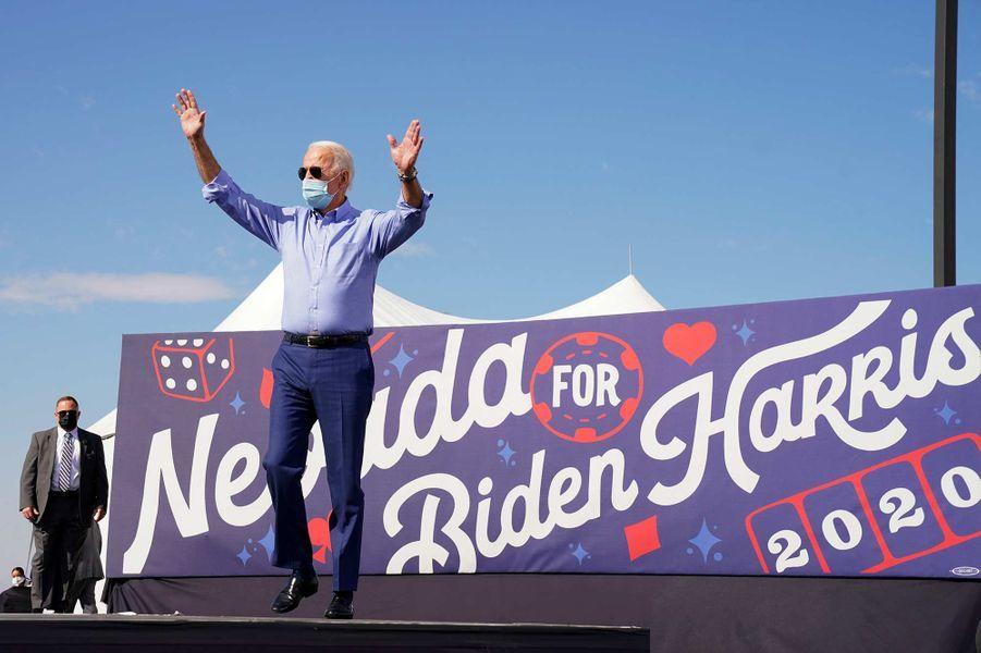 Joe Biden lors d'un discours à Las Vegas, dans le Nevada, le 9 octobre 2020.