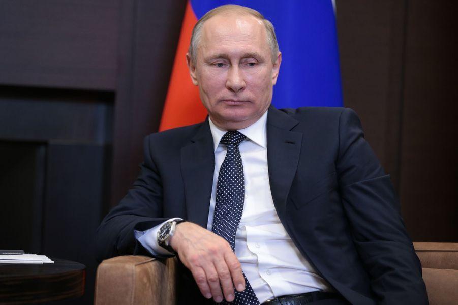 Vladimir Poutine à Sotchi, le 2 mai 2017.