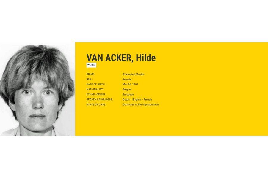 """Hilde VAN ACKER recherchée par la Belgique pour """"tentative de meurtre""""."""