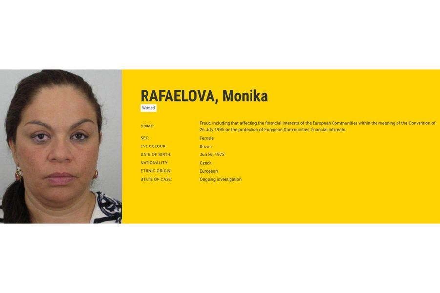 Monika RAFAELOVA recherchée par la Suède pour fraude.