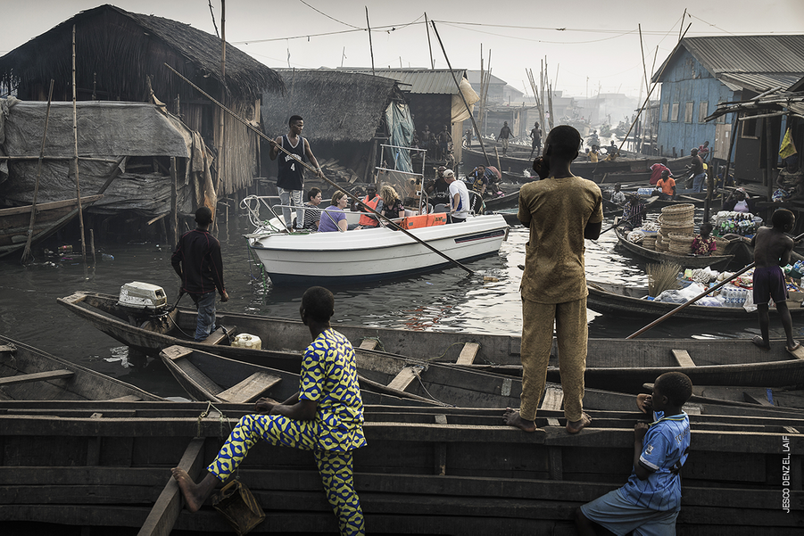 CONTEMPORARY ISSUES - SINGLES :Jesco Denzel, Germany, Laif.Lagos Waterfront Under Threat