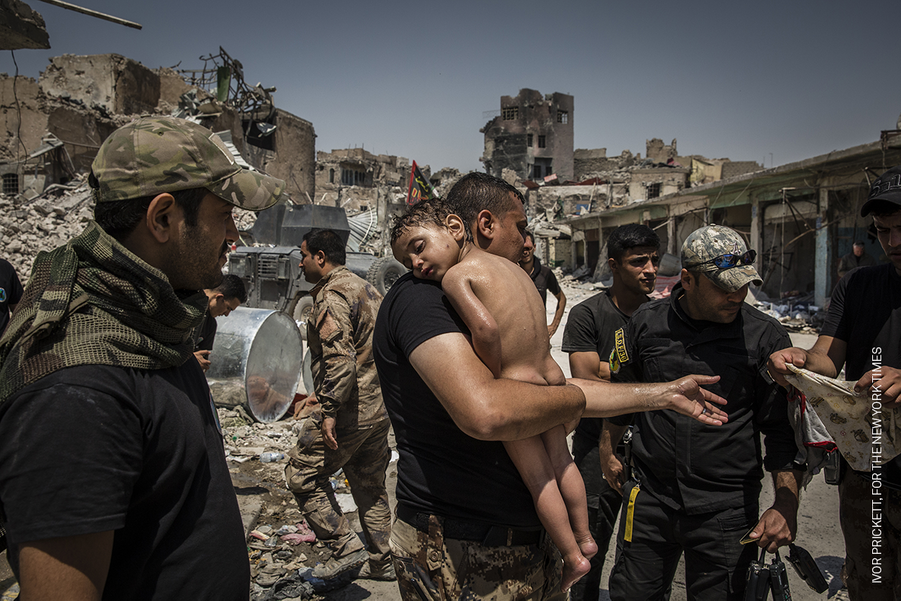 GENERAL NEWS - STORIES :Ivor Prickett, Ireland, for the New York Times.The Battle for Mosul