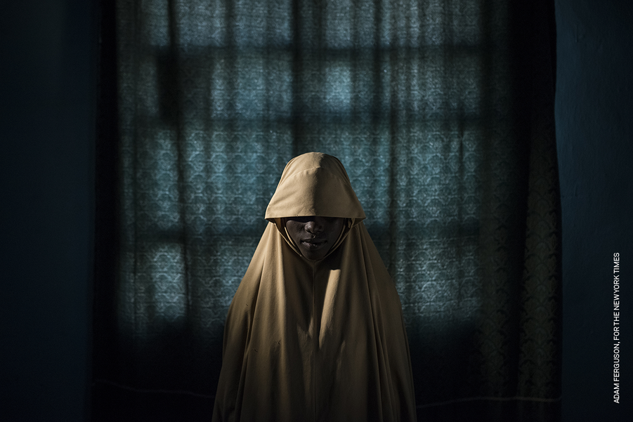 PEOPLE - STORIES :Adam Ferguson, Australia, for the New York Times.Boko Haram Strapped Suicide Bombs to Them. Somehow These Teenage Girls Survived.