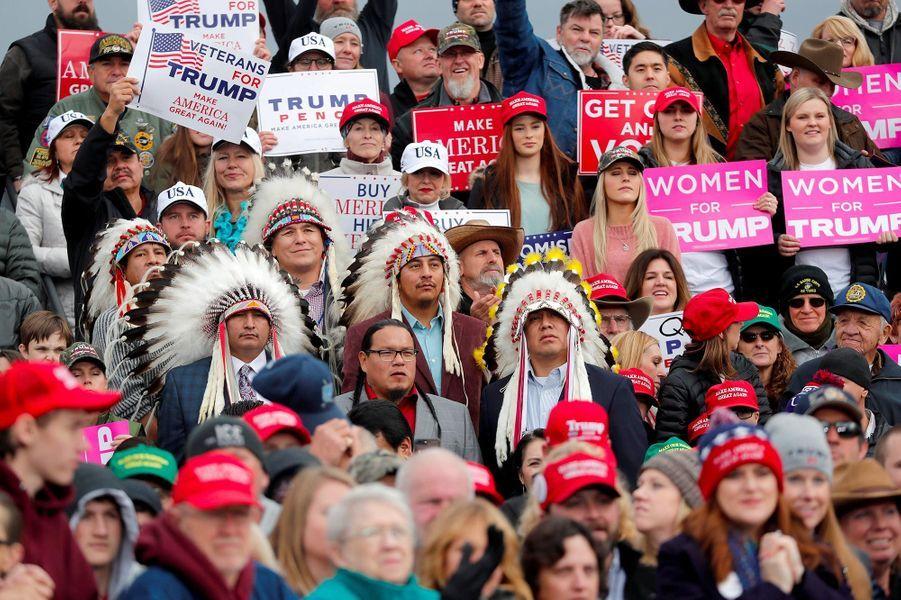 Donald Trump à Belgrade, dans le Montana, le 3 novembre 2018.