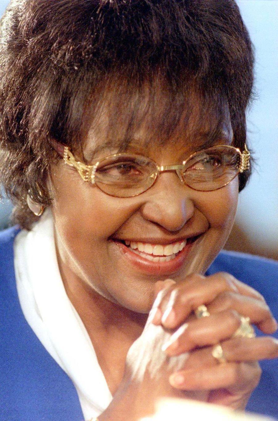 Winnie Mandela, en décembre 1997.